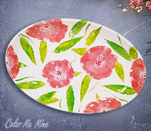 Highland Village Floral Paper Stamping